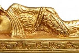 Bouddha couché Bronze