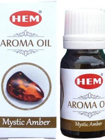 Huile parfumée mystique ambre 10 ml