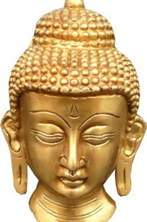 Tête de bouddha Bronze