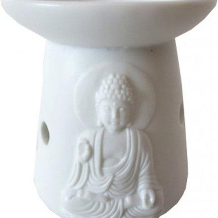 Brûleur blanc bouddha