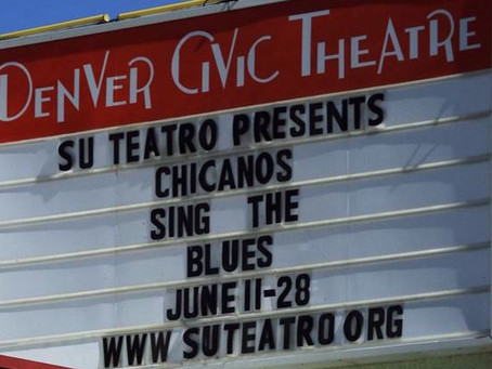 Playing Ramona in Su Teatro's 'Chicanos Sing The Blues' June 11-28, 2015, Denver, CO