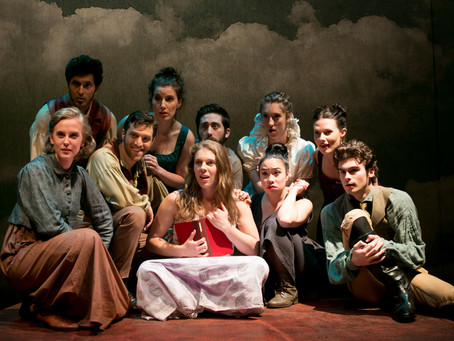 BOVTS Grad Show of Jane Austen's Northanger Abbey at Wickham Theatre