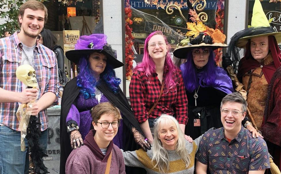 CRECHE Community members celebrate Halloween Together
