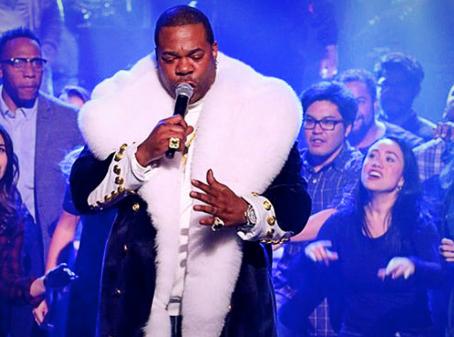 Dancing backup 4 Busta Rhymes 4 Hamilton Mix Tape, 'My Shot' on Tonight Show Starring Jimmy Fallon