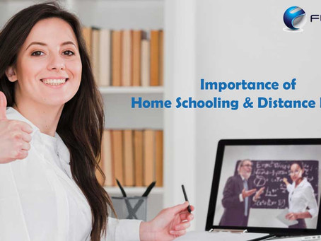 The Importance of Home Schooling and Distance Learning in These Days!