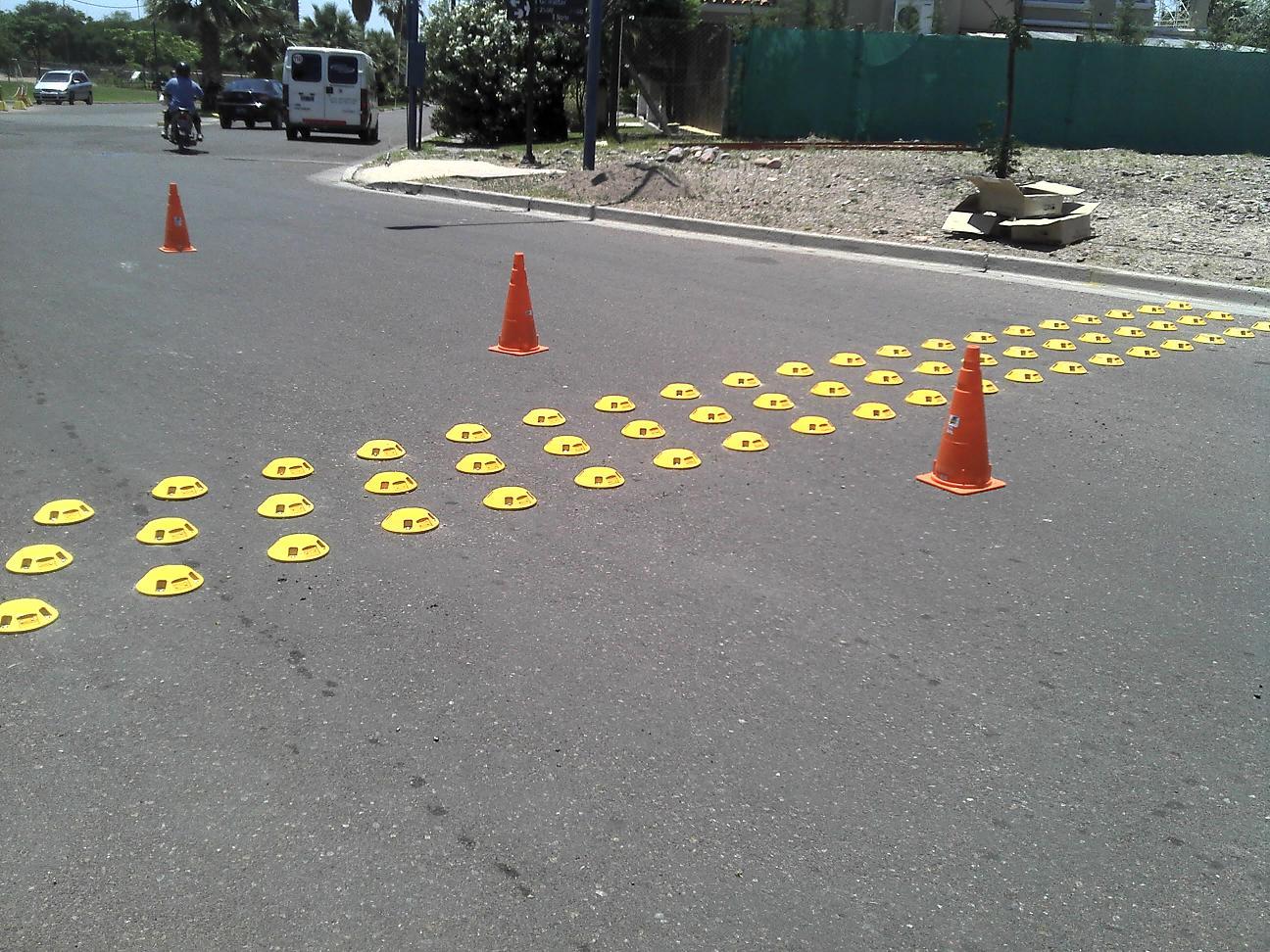 Barrio Palmares-Mendoza- Carma reductora de velocidad
