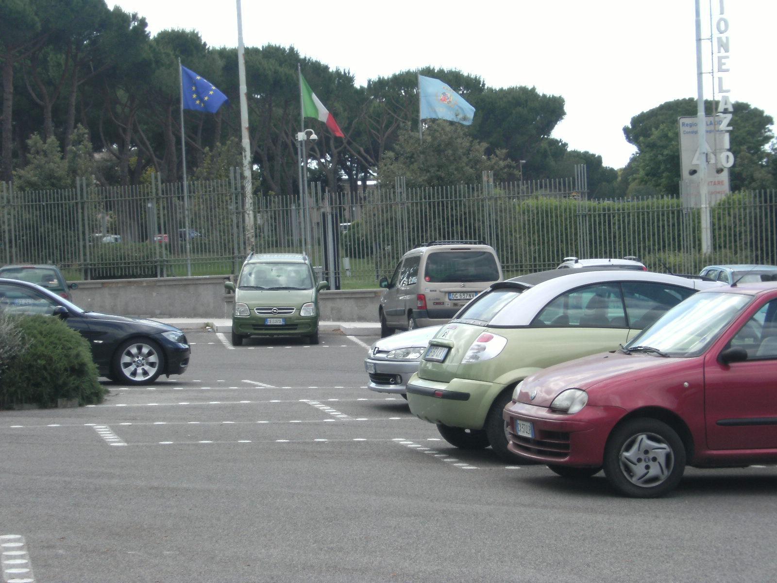 estacionamientos en Italia