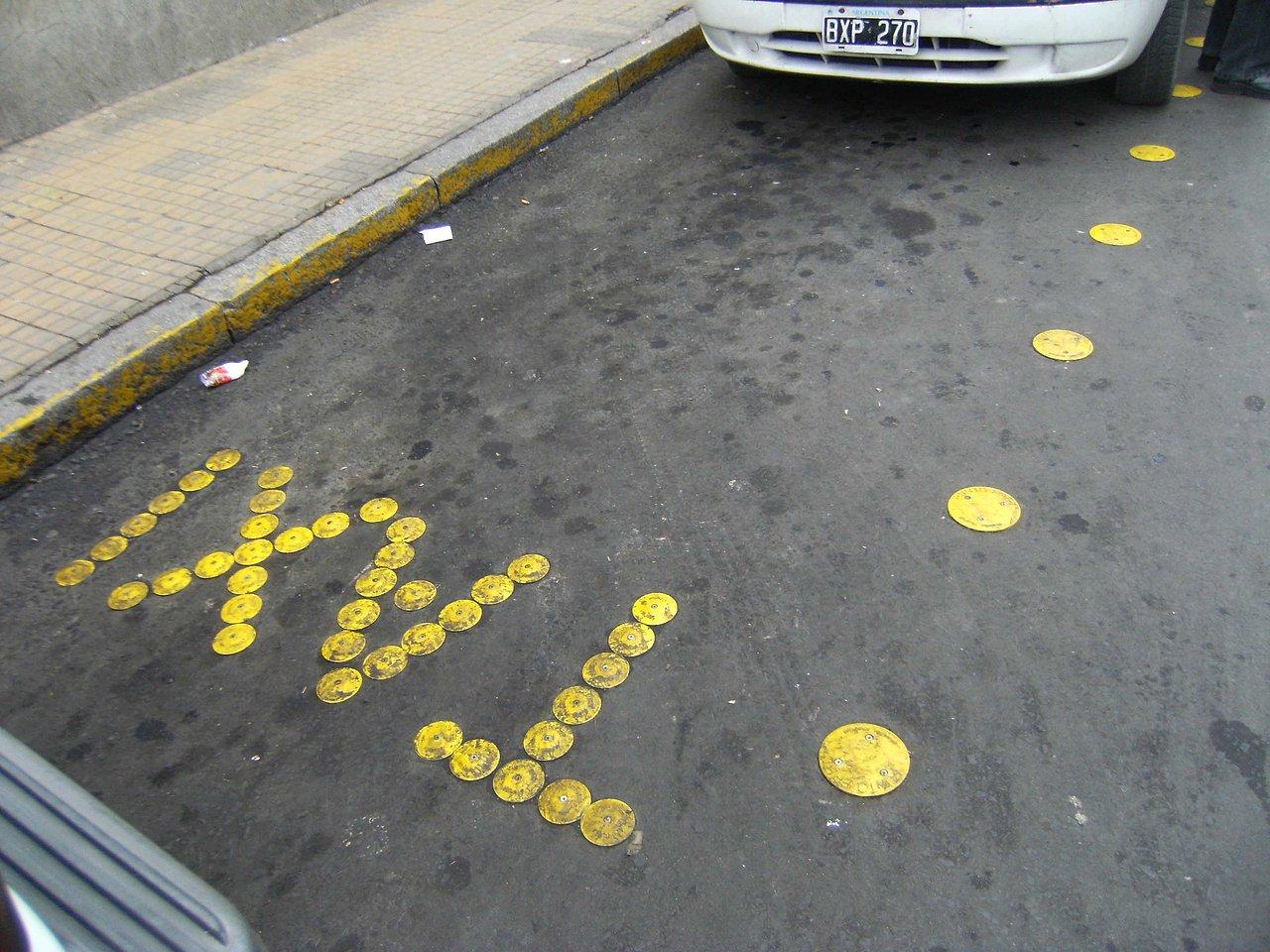 Estacionamiento TAXI