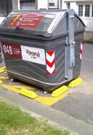 Topes para contenedores. Paraná
