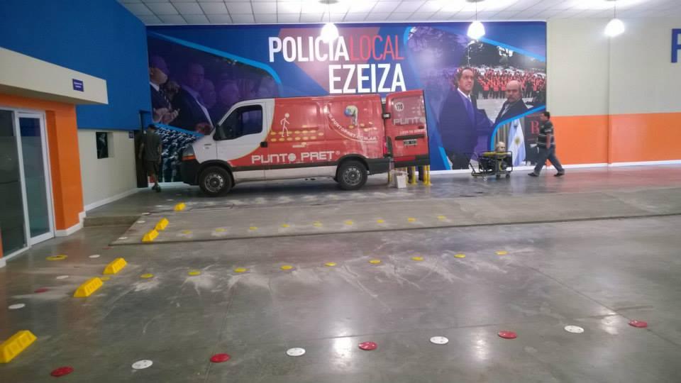 logistica policial ezeiza