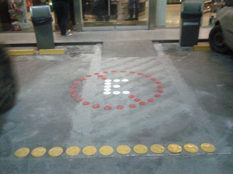 simbolo prohibido estacionar