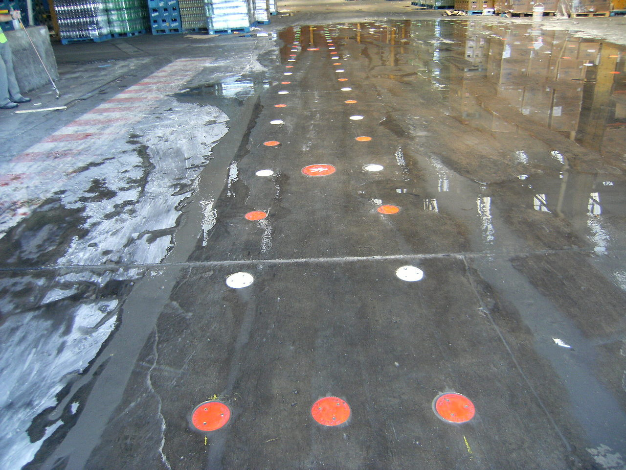 senda peatonal quilmes Pompeya
