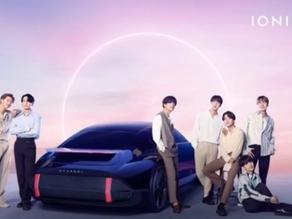 Zur Einführung der Elektrofahrzeugmarke IONIQ arbeitet Hyundai mit K-POP Group BTS zusammen