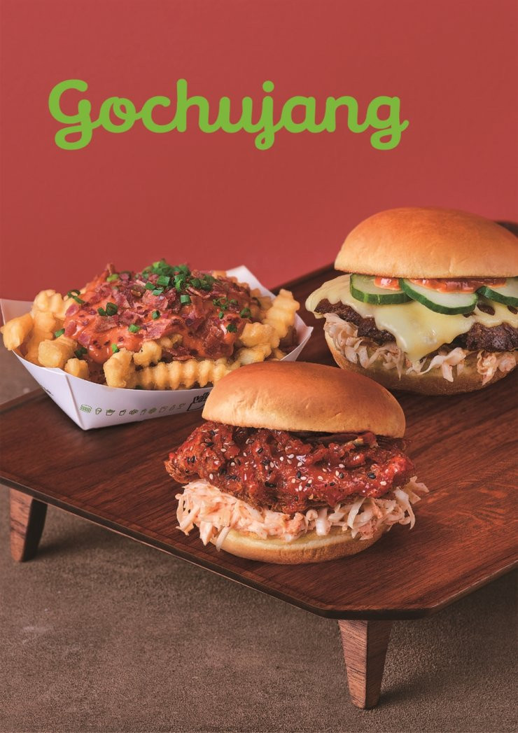 Gochujang burgers and fries menu / Courtesy of SPC Group