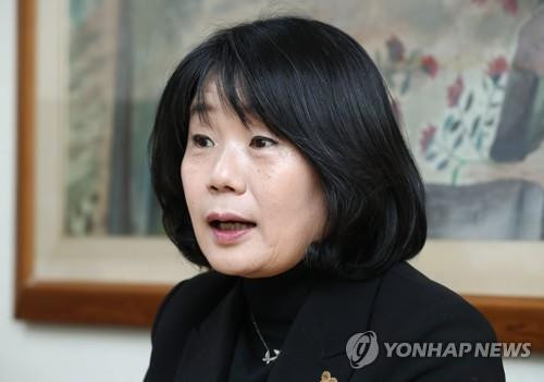 Abgeordnete Youn Mee-hyang