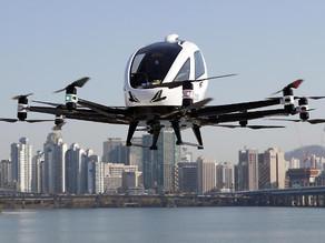 Hanwha Systems stabiler Testflug des eVTOL in Seoul