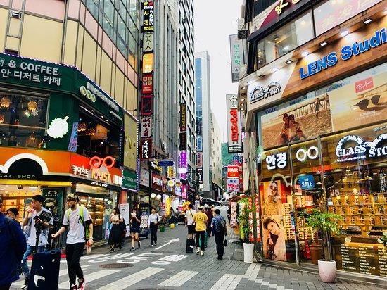 Seoul - Myeongdong Shopping Street