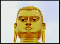 Golden Buddha, Head
