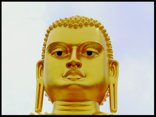 Golden Buddha, Head