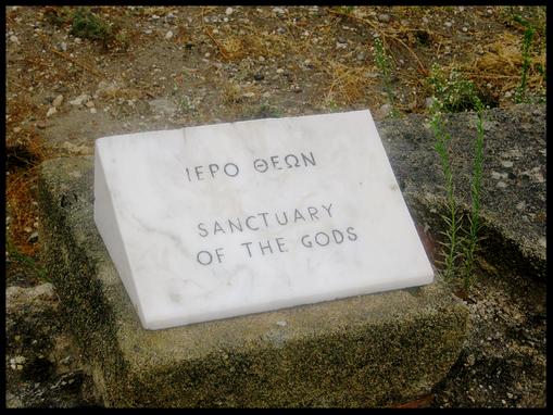 Sanctuary of the gods