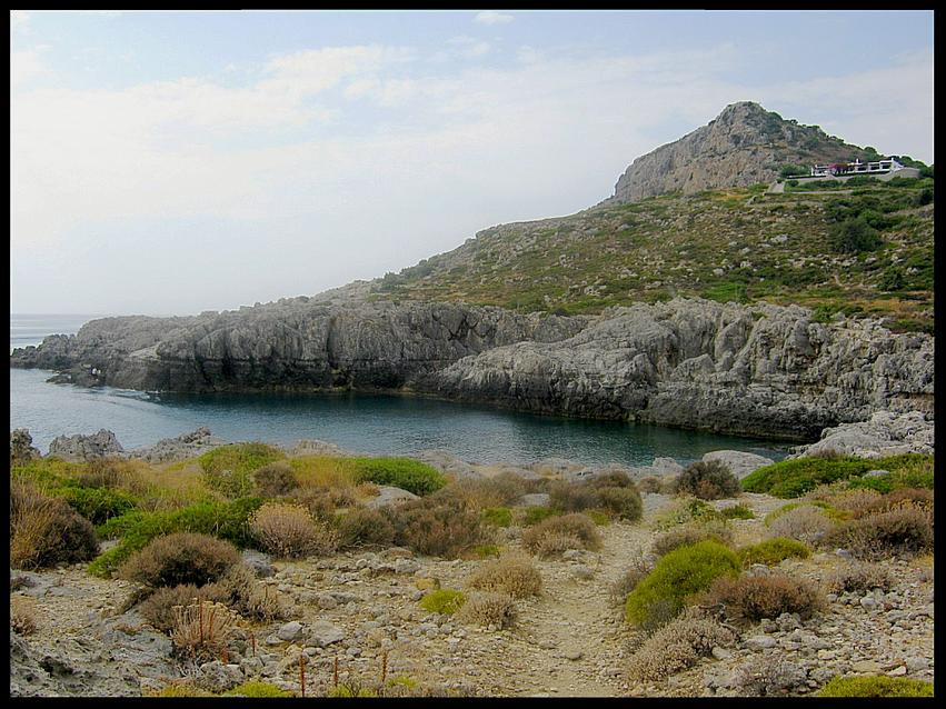 Ladiko Beach-Mountain