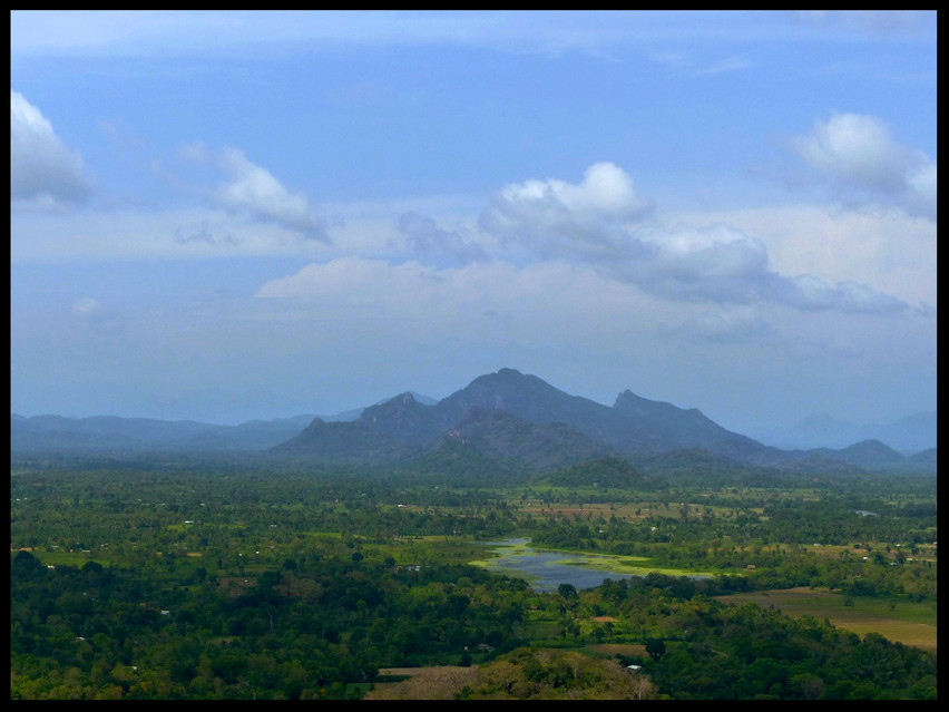 View from the Top Sigiriya Rock