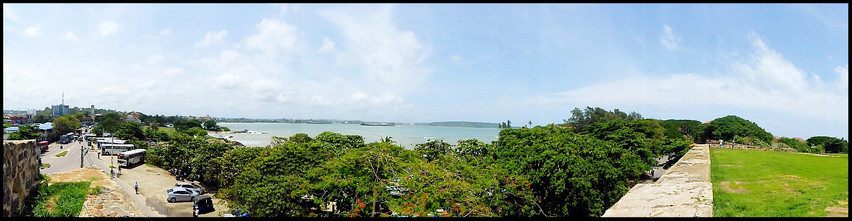 Panorama-View from Fort Galle