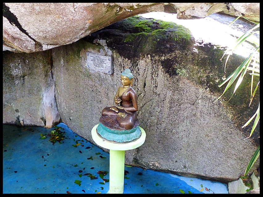 Rock Temple-Little Buddha