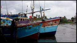 Small fishing port