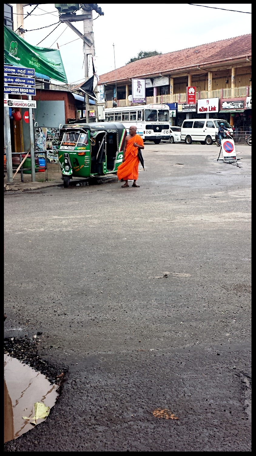 Monk in Town