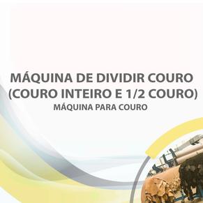 Máquina de dividir couro (couro inteiro e 1/2 couro)