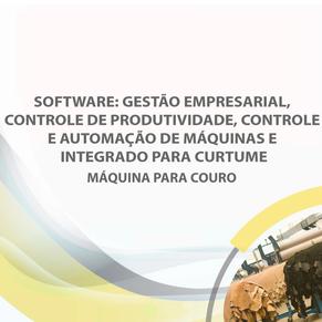 Software: gestão empresarial, controle de produtividade, controle e automação de máquinas ...