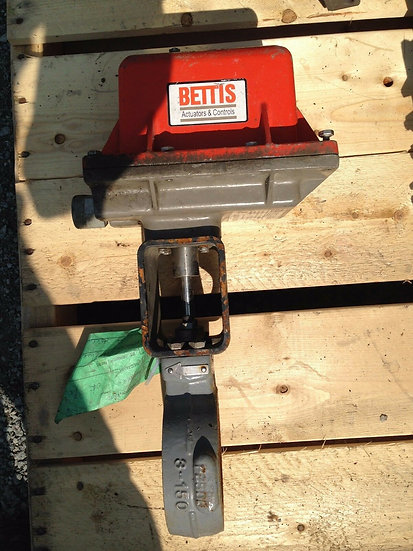 FISHER  POSI-SEAL TYPE A41 3 INCH BUTTERFLY CLASS 150 BETTIS ACTUATED VALVE