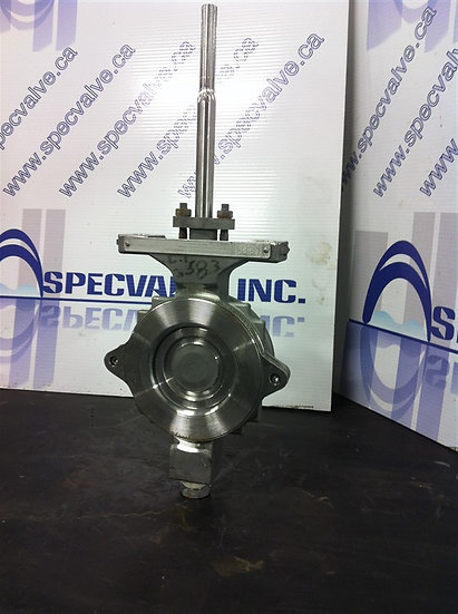 FISHER 3in CL150 Butterfly Valve