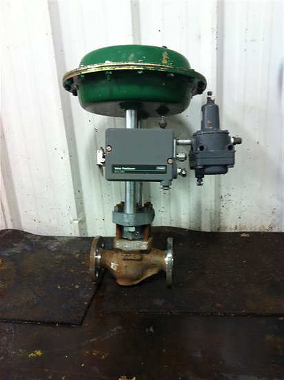 FISHER 1in CL150 Actuated Globe Valve