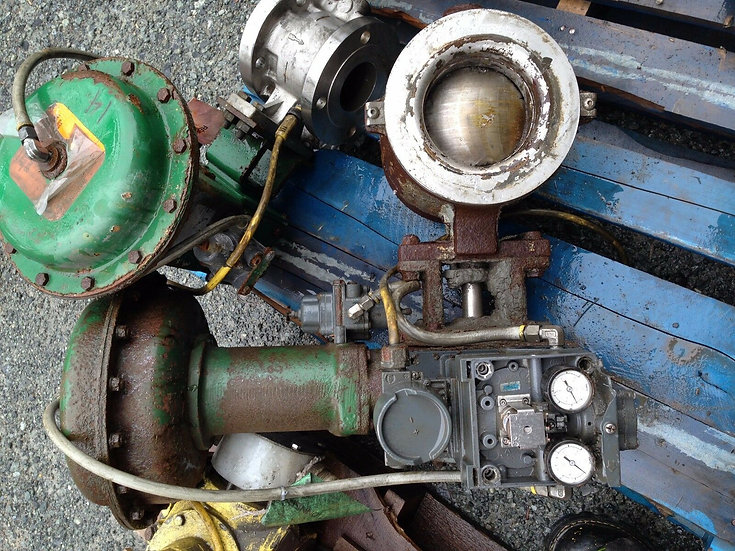 FISHER  6in V200 CLASS 150-600 667 ACTUATED VALVE