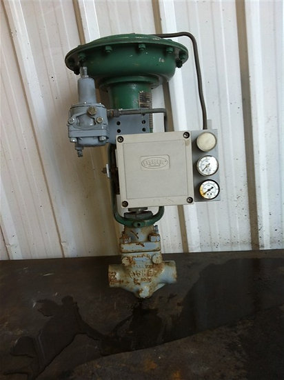 FISHER 1in Type EZ Actuated GLOBE Valve