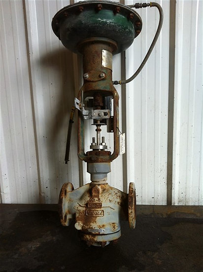 Fisher 2in Type ED Actuated GLOBE Valve