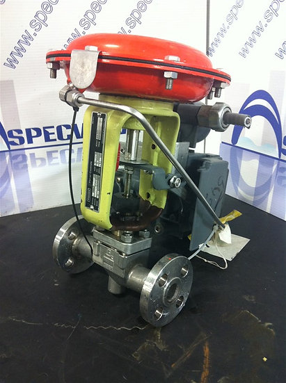 FISHER BAUMANN 0.5in (1/2) cl150  Actuated Globe Valve