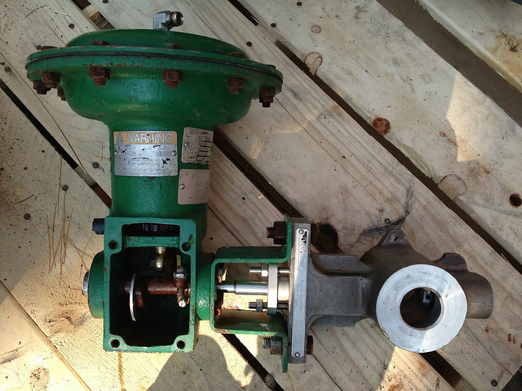 FISHER V200 1.5 INCH CLASS SS 1052 ACTUETED VALVE