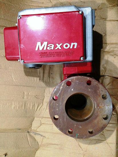 MAXON 6 INCH MODEL 400CMA21-BA11-BB22A0 SHUT OFF VALVE