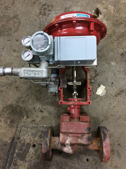 MASONEILAN 1in CL900 globe valve 88-21121