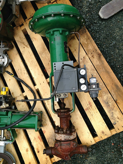 FISHER 1in TYPE HPS CLASS 1500 667 ACTUATED GLOBE VALVE