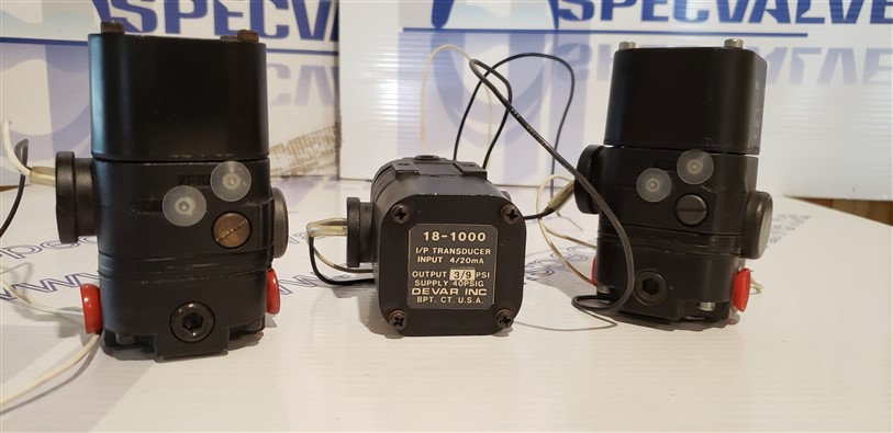 DEVAR I/P TRANSDUCER 18-1000 3-9 psi
