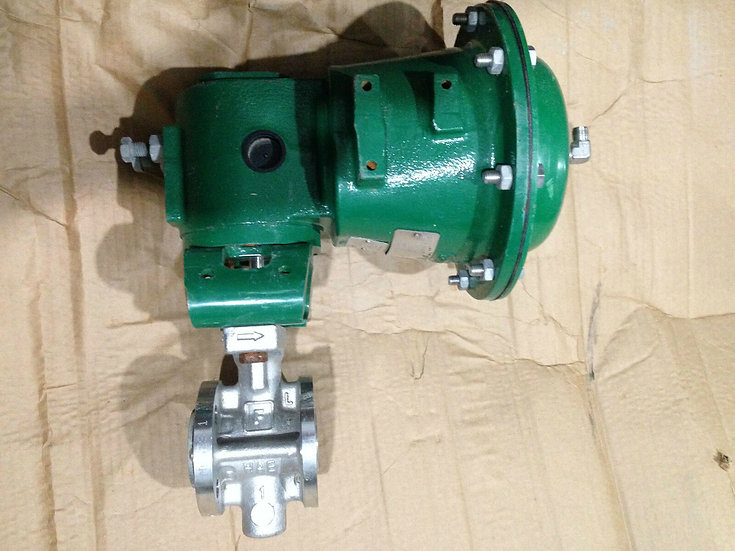FISHER 1in V150 SS  CLASS 150 2052 ACTUATED VALVE