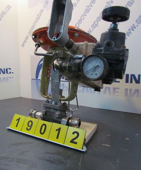 BAUMANN CONTROL VALVE 1/2in. MODEL 32-24102S CL300