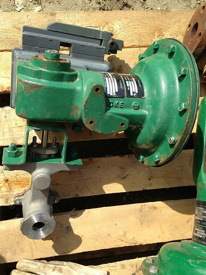FISHER V100 1 INCH CLASS 150-600 1052 ACTUATED VALVE