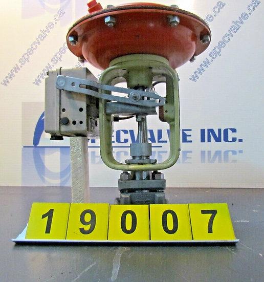 BAUMANN CONTROL VALVE 1/2in. MODEL 32-24-588S CL300