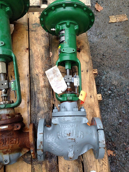 FISHER TYPE ED 3 INCH CLASS 150 667 ACTUATED GLOBE VALVE