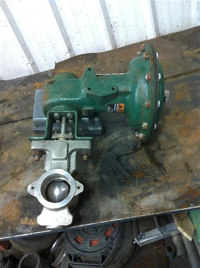 Fisher 1.5in V200 Actuated V-Ball Valve